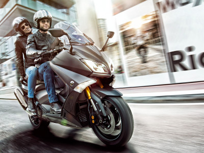 Photoshoot for the all new Yamaha TMAX