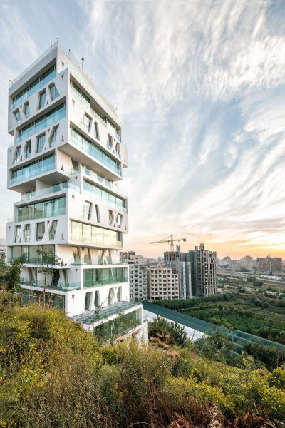 price winning building in Beirut, designed by orange architects, photography matthijs van roon